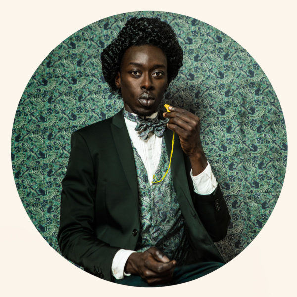 Omar Victor Diop, 'Frederick Douglass 1818–1895' (2014), from the series 'Diaspora'. © Omar Victor Diop / MAGNIN-A, Paris