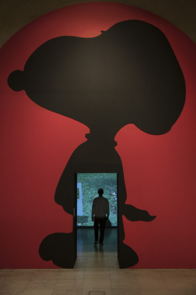 GOOD GRIEF, CHARLIE BROWN! at Somerset House. Photo credit: Peter Macdiarmid