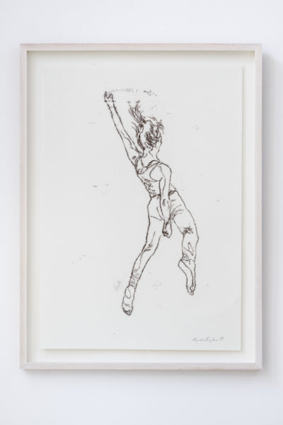 Emilie Taylor, working sketch, II, 2018, 50 x 66 cm, monoprint ink on paper. Courtesy the artist and Bosse & Baum. Photo credit: Damian Griffiths