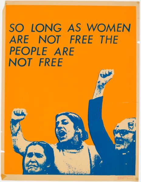 See Red Women's Workshop, So Long As Women Are Not Free The People Are Not Free, 1978. © See Red Women's Workshop.