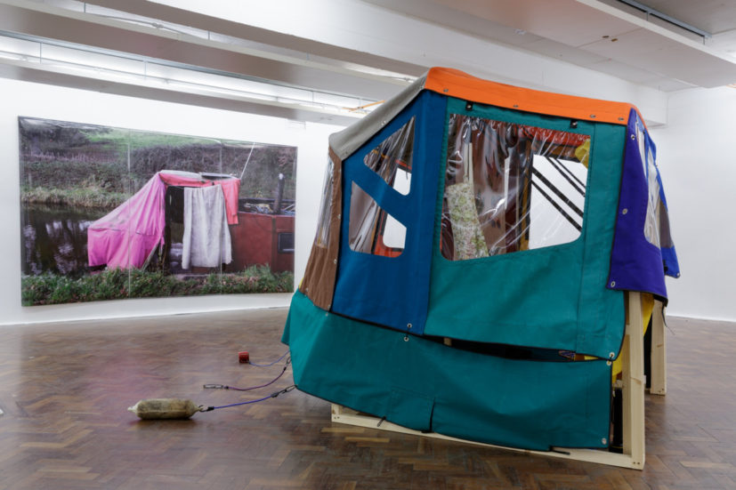 Installation view of 'Anna Chrystal Stephens: Anorak' at SPACE Studios. Image courtesy the artist and Space Studios