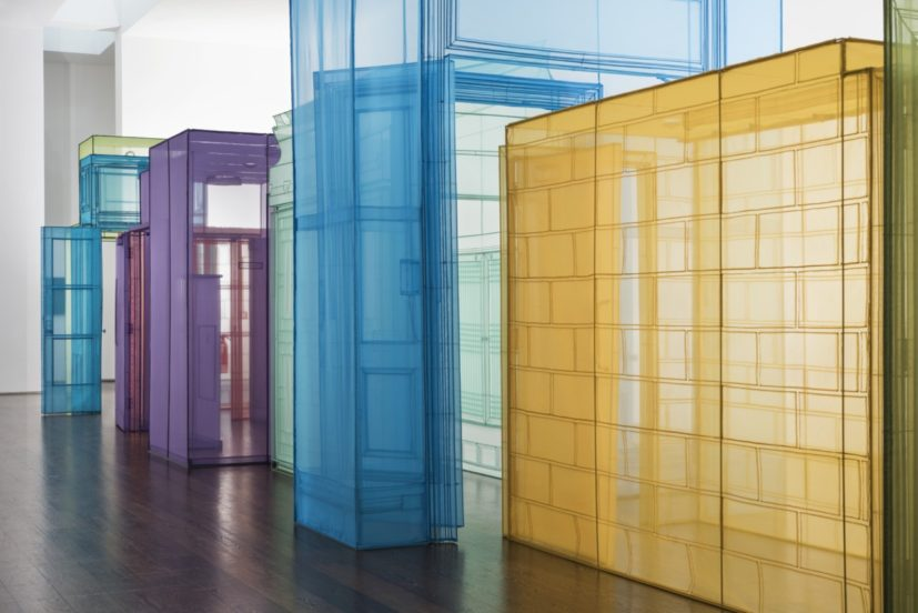 Installation view, Do Ho Suh: Passage/s, Victoria Miro, 1 Febuary - 18 March 2017 (photography: Thierry Bal).