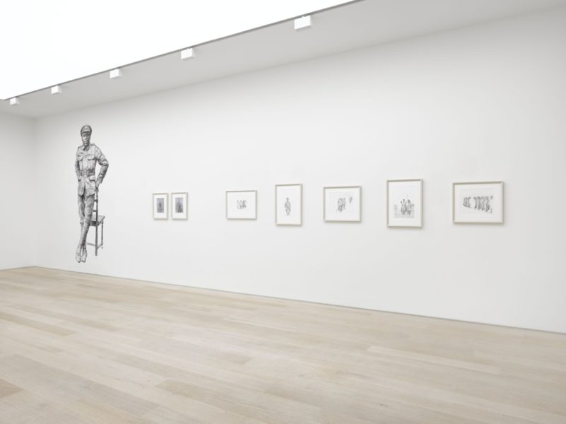 Protest and Remembrance install shot. Courtesy of Alan Cristea Gallery. Photo credit: Jack Hems