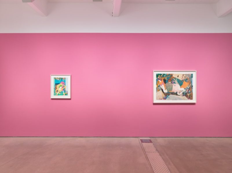 Installation view of 'Gladys Nilsson: Unencumbered' at Hales Gallery, London. Image courtesy the Artist, Garth Greenan Gallery and Hales Gallery. Copyright the Artist.