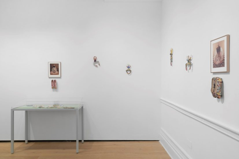 Rose English, Form, Feminisms, Femininities, Installation view, 2019. Photography by Ben Westoby. Copyright the Artist. Courtesy Richard Saltoun Gallery, London