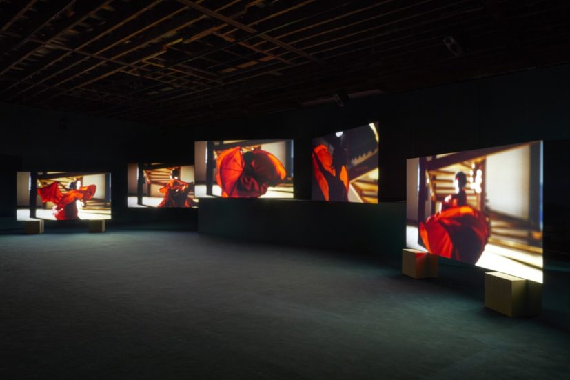 Isaac Julien, Installation view of 'Lina Bo Bardi – A Marvellous Entanglement' at Victoria Miro, 7 June–27 July 2019. © Isaac Julien Courtesy the artist and Victoria Miro, London/Venice