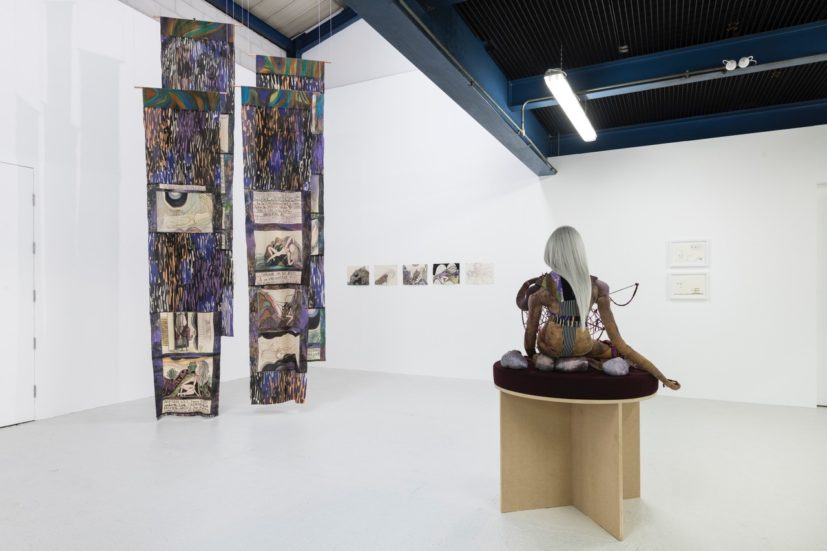 Emma Talbot, 'Your Own Authority' at William Morris Gallery. Commissioned by Art Night 2019. Photo: Emma Talbot