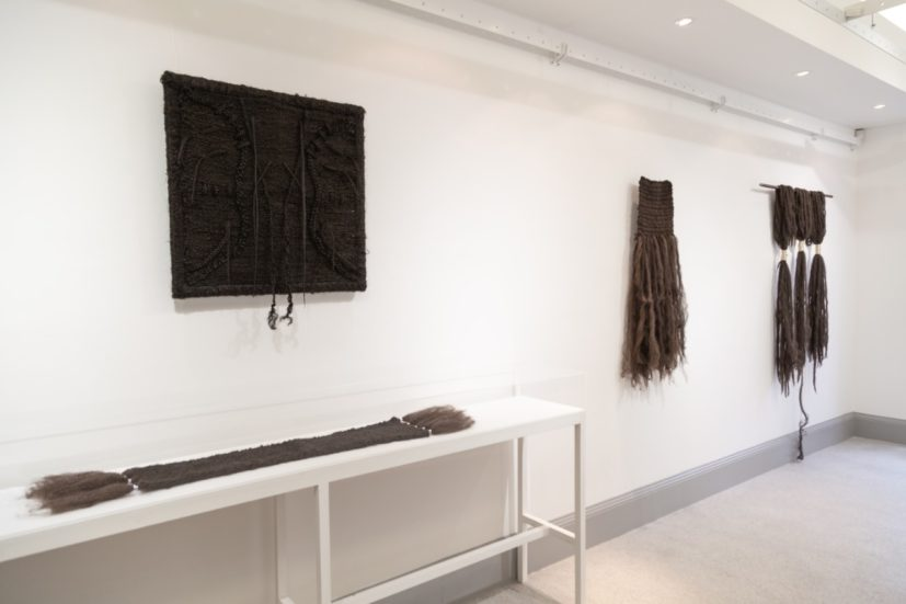 Installation view of 'Knotted' at Constance Howard Gallery, University of London. Courtesy of Goldsmiths, University of London.