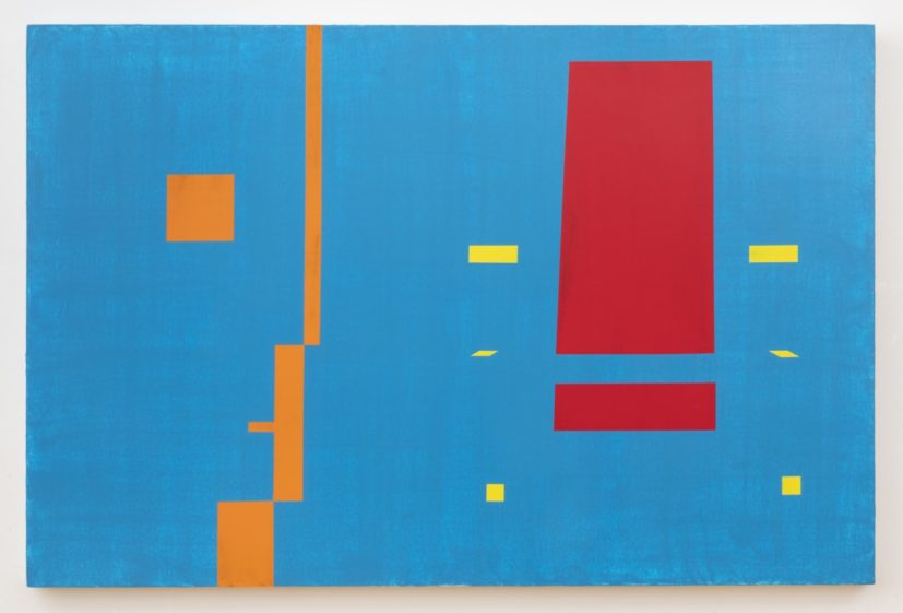 David Diao, Bauhaus Still Looking to De Stijl, 2018. Courtesy of the artist and Tanya Leighton Gallery
