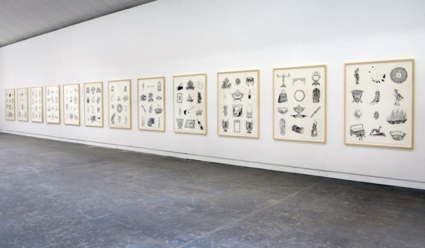 Pio Abad, 'Notes on Decomposition', 2016 (installation view, CCA Glasgow)