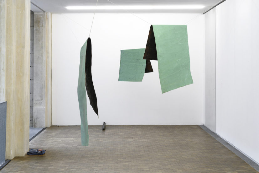Installation view of 'Katinka Bock: Commotion in Higienópolis' at Lafayette Anticipations.