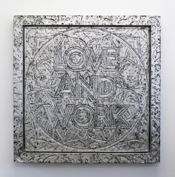 Mark Titchner, 'Love and Work', 2012. Courtesy the artist