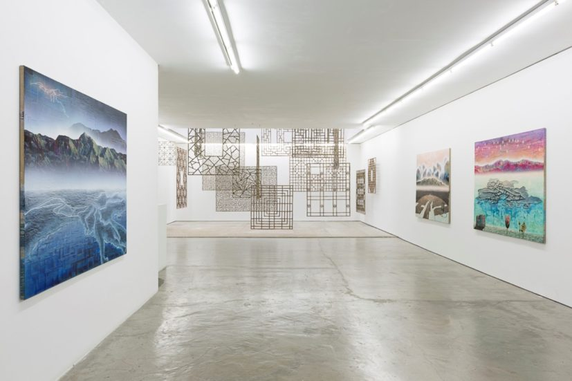 Installation view of 'Gordon Cheung: Tears of Paradise' at Edel Assanti, London. © Studio Will Amlot, courtesy Edel Assanti