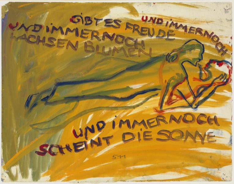 Charlotte Salomon, 'Leben? oder Theater? Ein Singspiel (Life? or Theatre? A Play with Music)', 1941–42. Collection Jewish Historical Museum, Amsterdam. © Charlotte Salomon Foundation