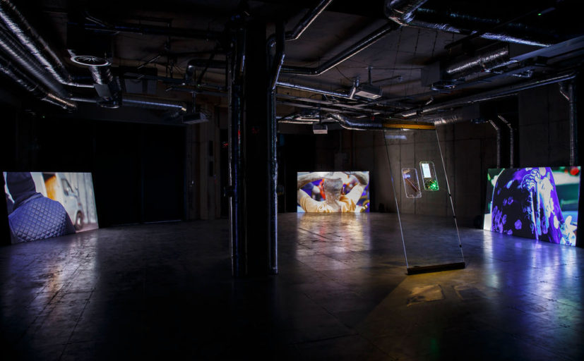 Trickle Down, A New Vertical Sovereignty installation view. Photograph by David Oates