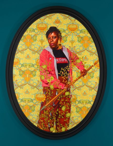 Kehinde Wiley, 'Portrait of Mojisola Elufowoju', 2020.  © Kehinde Wiley. Courtesy the artist and Stephen Friedman Gallery, London.