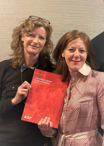 Fabienne Nicholas, Head of CAS Consultancy, and Sherry Dobbin, Futurecity, at ULI Europe Conference