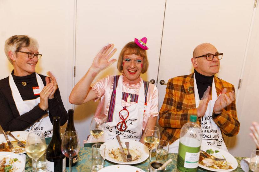 Contemporary Art Society dinner, Grayson Perry's studio, London, England, 2020. © Martin Parr / Magnum Photos. Image 40