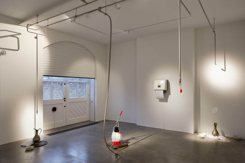 Abbas Zahedi, How To Make A How From A Why? (2020). Installation view, South London Gallery. Credit: Andy Stagg