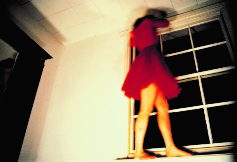 Lucy Gunning, Climbing Around My Room, 1993. Courtesy of the artist and Greene Naftali Gallery