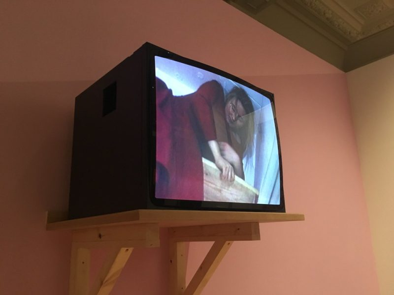 Installation view of Lucy Gunning, Climbing Around My Room, 1993. Courtesy of the artist and Greene Naftali Gallery