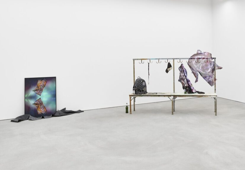 Florian Auer, Spiritual Reality, 2019, installation view at Kraupa-Tuskany Zeidler, Berlin. Courtesy the artist and Kraupa-Tuskany Zeidler, Berlin. Photo: def-image