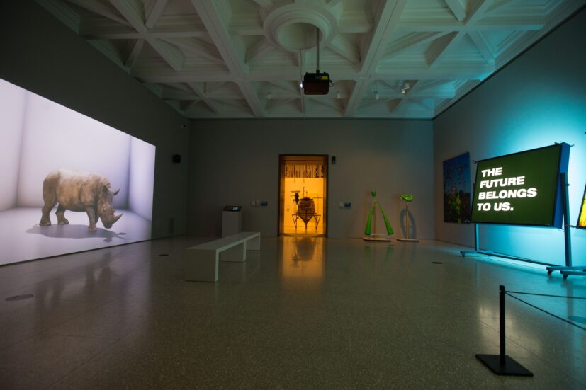 Installation view, Eco-Visionaries: Confronting a planet in a state of emergency, Royal Academy of Arts, London, 23 November 2019 — 23 February 2020. Photo: © Royal Academy of Arts, London / David Parry