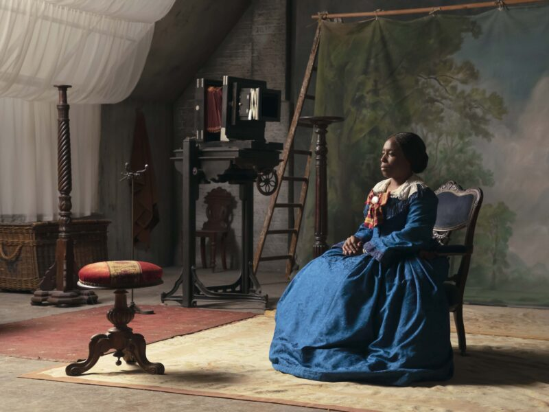 Isaac Julien, 'The Lady of the Lake (Lessons of the Hour)', 2019. Courtesy of the artist and Victoria Miro, London/Venice, Metro Pictures, New York