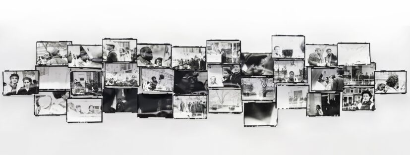 Isaac Julien, Lessons of the Hour, London 1983 - Who Killed Colin Roach?, 2019. Courtesy of the artist and Victoria Miro, London/Venice, Metro Pictures, New York