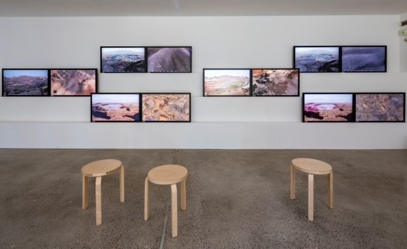 The Wilding of Mars, installation view at Better Nature, Vitra Design Museum Gallery, 2019. Photo credit: Photo: © Vitra Design Museum, Bettina Matthiesen.