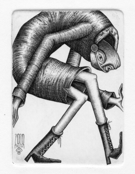 Phlegm, 'Space' from 'Pandemic Diary', 2020