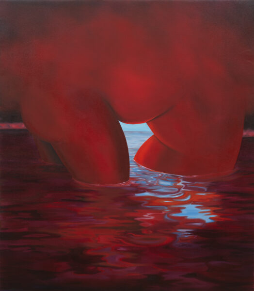 Brittney Leeanne Williams, A Red Baptism and A Red Drowning, 2020. Image courtesy the artist