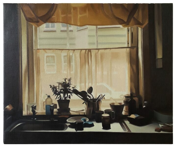 Mike Silva, Kitchen Window, 2020. Image courtesy of the artist and The Approach Gallery