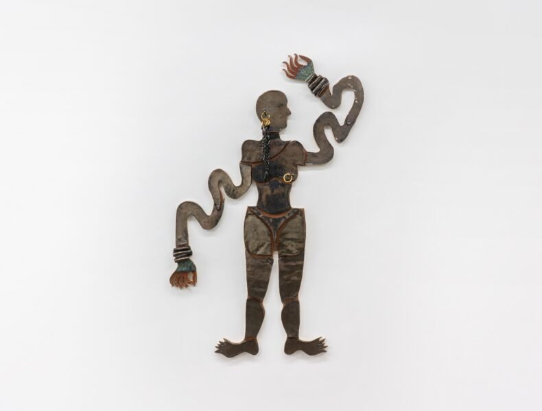 Anousha Payne, 'The snake maiden (stronger than a leaf)', 2020. Courtesy of the artist and Public gallery.