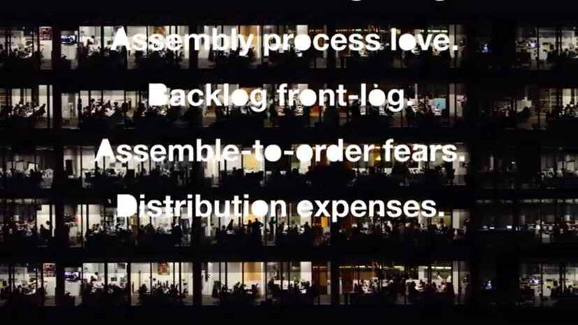 Liam Gillick, Object Related Mapping, 2020, single channel video, 4 mins 5 secs