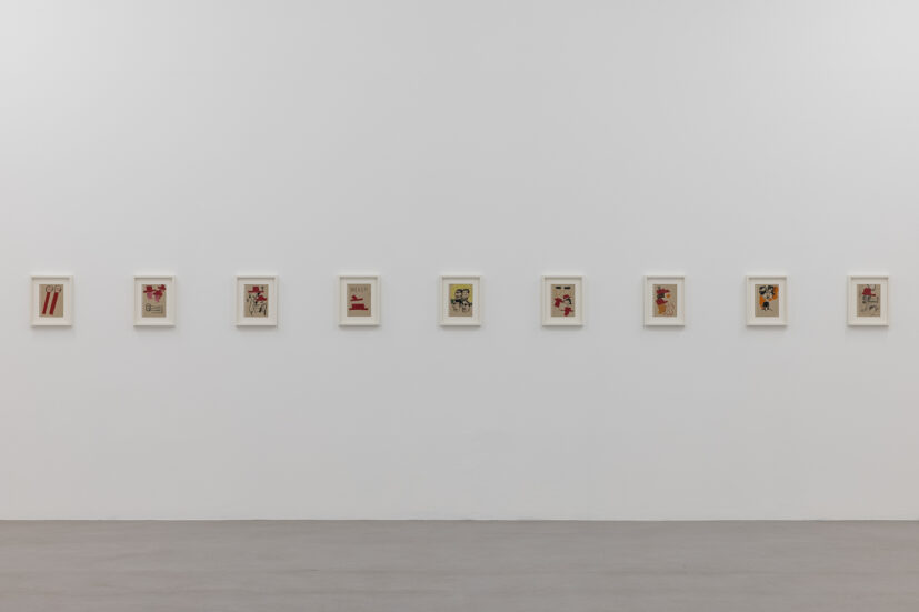 Installation view of Walter Price, Pearl Lines, 2021. Image: Rob Harris