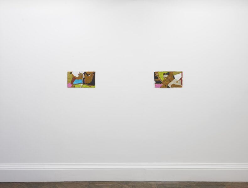 Installation view, Francis Offman, Herald St | Museum St, London, UK, 2021. Courtesy the artist and Herald St, London. Photo by Andy Keate.