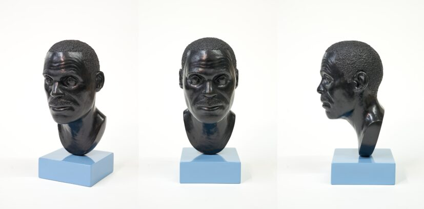 Thomas J. Price, Head 13, 2012 (3 views). Purchased with support from Art Fund, Contemporary Art Society and the Heslam Trust, 2020/21