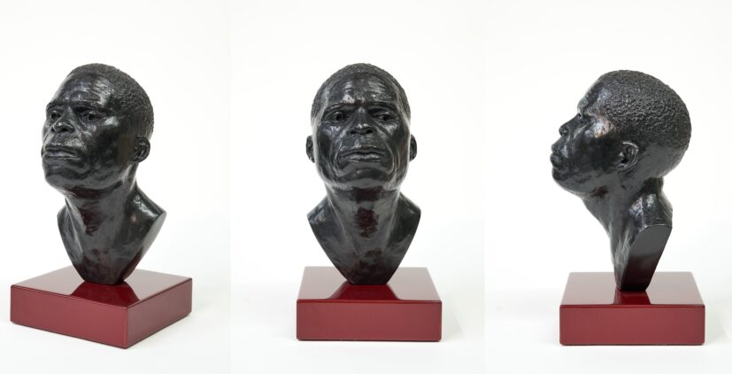 Thomas J. Price, Mental Structure #19 (Just Beyond This) (3 views), 2015. Purchased with support from Art Fund, Contemporary Art Society and the Heslam Trust, 2020/21
