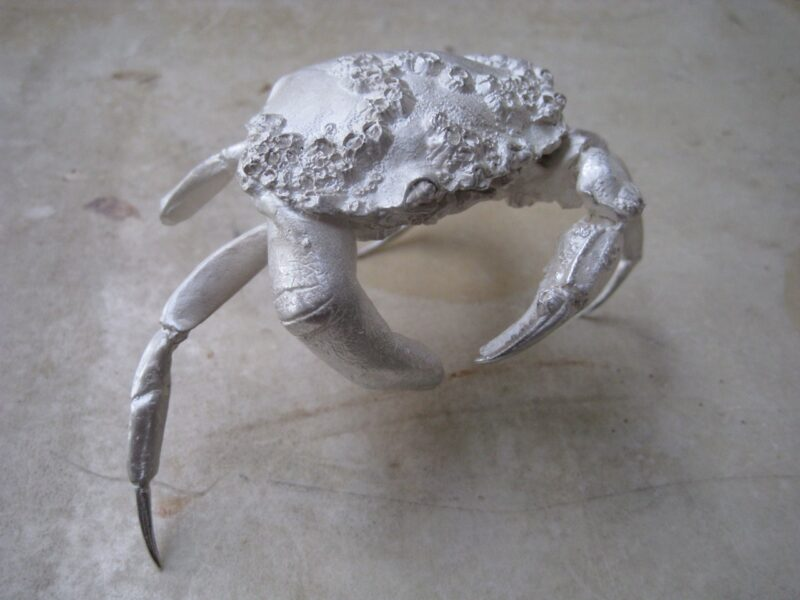 Dorothy Cross, 'Finger Crab', 2011. Solid cast sterling silver, 8 x 9.5 x 12 cm. Ed. 8 of 12 (#8/12). Courtesy the artist and Frith Street