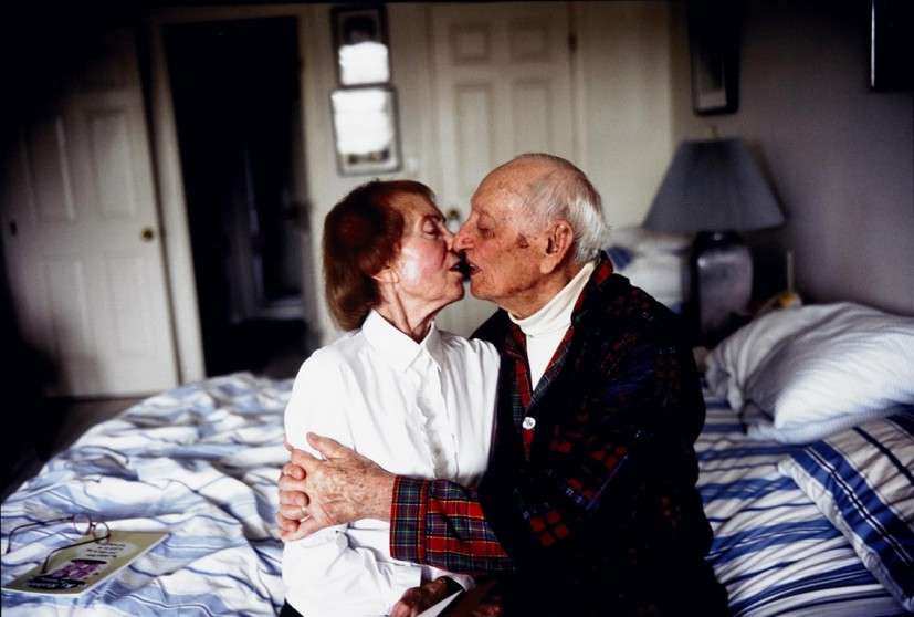 My Parents Kissing on their Bed, Salem, Massachusetts