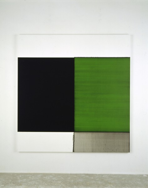 Callum Innes, Exposed Painting Emerald Green
