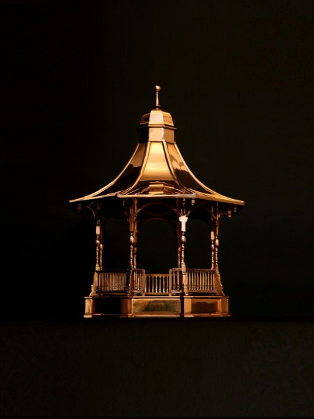 Brass Bandstand – scale model