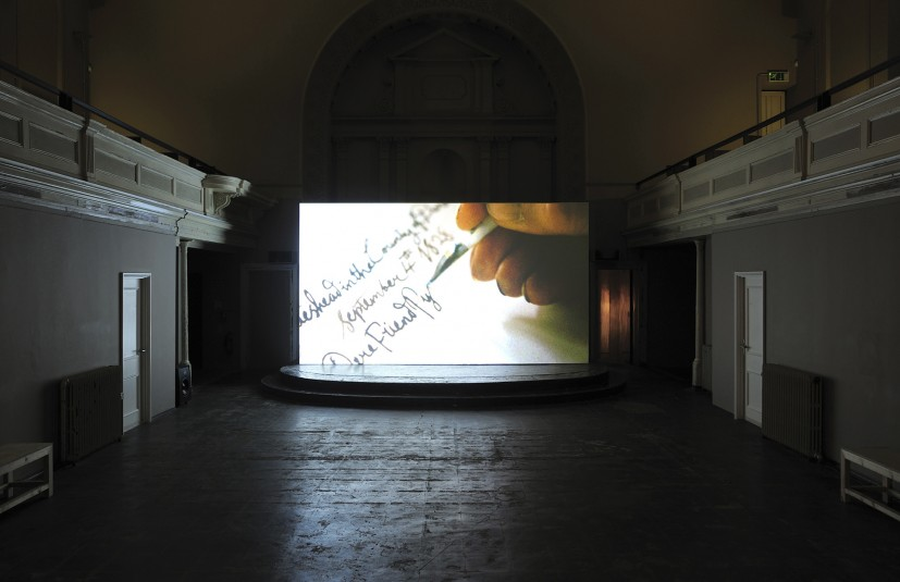 The Gainsborough Packet (installation at 176, London)