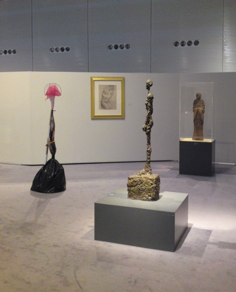 Vertical Assemblage: Prop (with Giacometti)