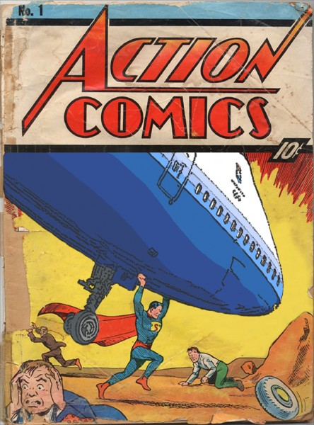 The Zapruder Objective #1 Action Comics