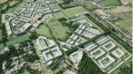 Illustrative masterplan view, North West Cambridge development. Courtesy AECOM