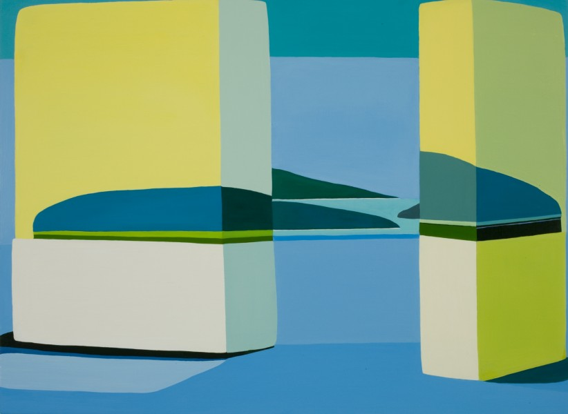 Louise Belcourt, Hedgeland Painting #9