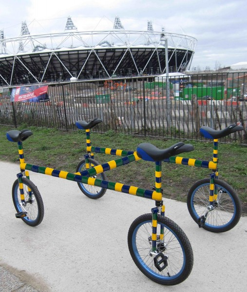 4H bike outside the Olympic Stadium