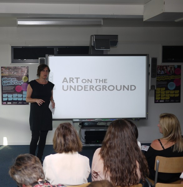 Tasmin Dillon, Head of Art on the Underground